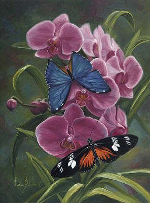 Painting - Nature's Poetry by Lucie Bilodeau