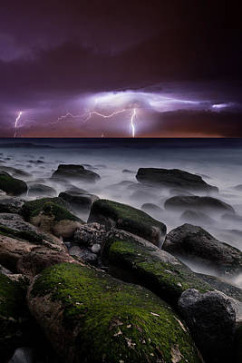 Lightning Photograph - Nature's Splendor by Jorge Maia