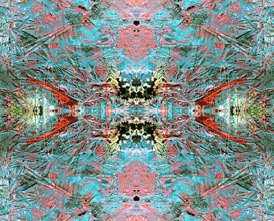 Crystallizing Energy Art Print