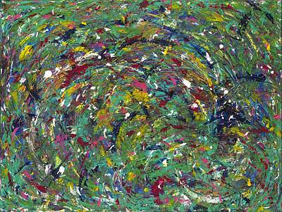 Painting - Nature's Vortex by Angela Bushman