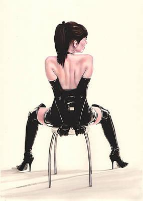 Naughty Chair Original by Karl Hamilton-Cox