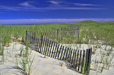 Photograph - Nauset Beach Dunes by Allen Beatty