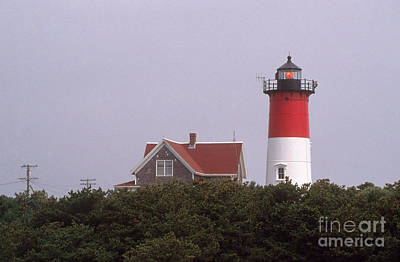 Chatham Lighthouse Photograph - Nauset Beach Lighthouse by Bruce Roberts