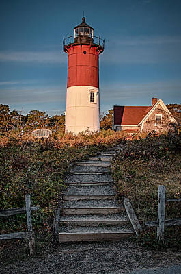 Photograph - Nauset Lt. by Fred LeBlanc