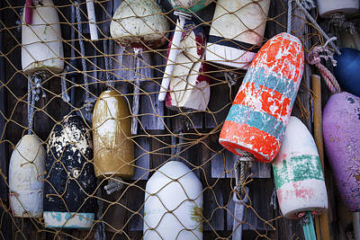 Fish Shacks Photograph - Nautical by Eric Gendron