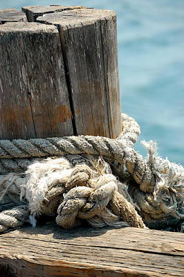 Photograph - Nautical Knots by Tamyra Crossley