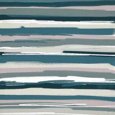 Lime Painting - Nautical Sense by Lourry Legarde