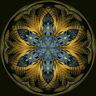 Kaleidoscope Photograph - Nautical Star by Cindi Ressler