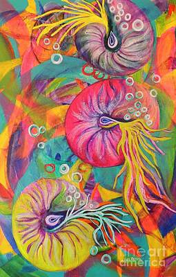 Painting - Nautilus by Lyn Olsen