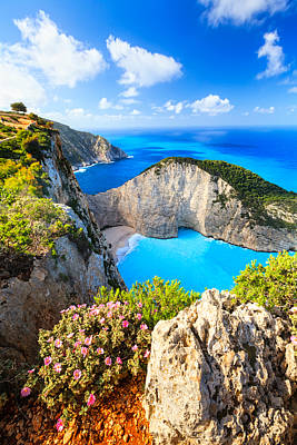 Greece Photograph - Navagio Bay by Evgeni Dinev