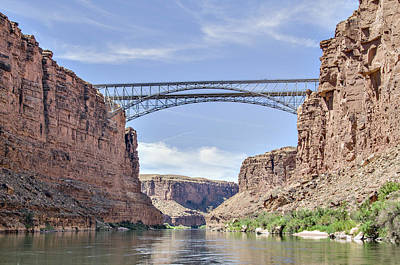 Photograph - Navajo Bridge by Alan Toepfer