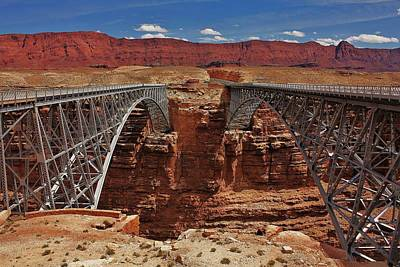 Photograph - Navajo Bridges by Benjamin Yeager