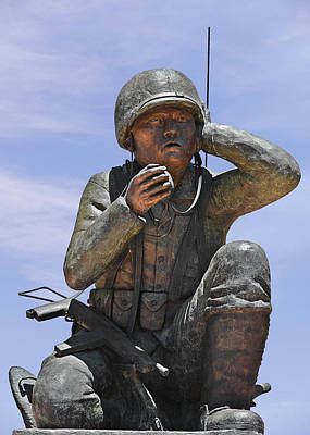 Communications Photograph - Navajo Code Talkers - Navajo People by Christine Till