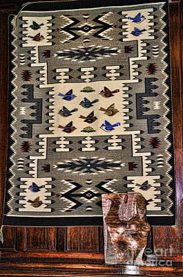 Photograph - Navajo Design by Brenda Kean