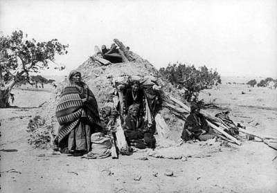 Navajo Family, C1914 Art Print