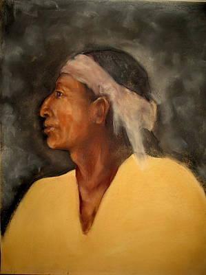 Pastel - Navajo by Johanna Elik