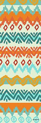 Digital Art - Navajo Missoni I by Nicholas Biscardi