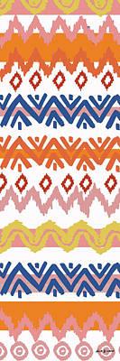 Digital Art - Navajo Missoni IIi by Nicholas Biscardi