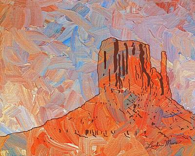 Impressionism Painting - Navajo Nation Arizona by Linda Mears