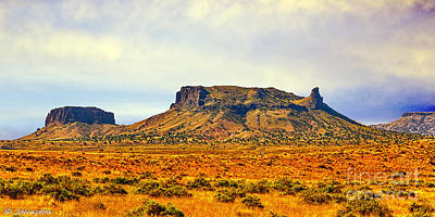 Navajo Nation Monument Valley Art Print by Bob and Nadine Johnston