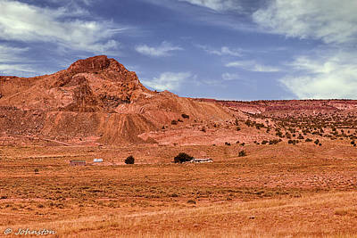 Photograph - Navajo Nation Series Along Arizona Highways by Bob and Nadine Johnston
