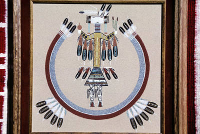 Magic Time Painting - Navajo Sand Painting by Vintage Images