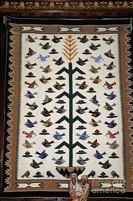 Photograph - Navajo Weaving by Brenda Kean