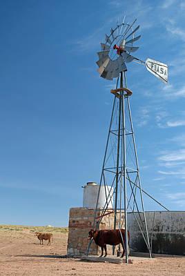 Photograph - Navajo Windmill 1 by Jeff Brunton