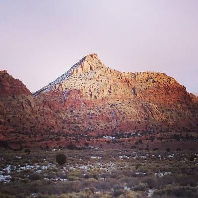 Navajo Winter Art Print by Jake Harral