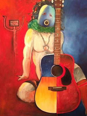 Navajo Yei With Guitar Original