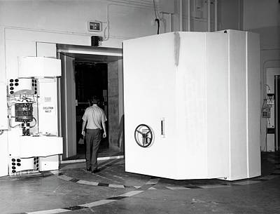 Sector Photograph - Naval Research Laboratory Cyclotron by Naval Research Laboratory, Courtesy Emilio Segre Visual Archives, Physics Today Collection/american Institute Of Physics