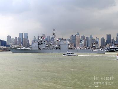 Photograph - Naval Ship N.y.c. by Ed Weidman