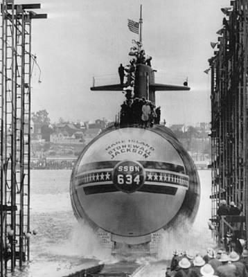 Naval Submarine Art Print