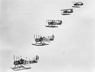 Naval Torpedo Bombers, 1920s Print by Science Photo Library