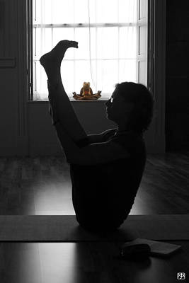 Photograph - Navasana Variation by John Meader