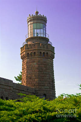 Photograph - Navesink Twin Lights Lighthouse by Anthony Sacco