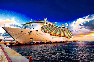 Photograph - Navigator Of The Seas by Bill Howard
