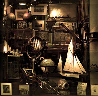 Photograph - Navy Antiques by Radoslav Nedelchev