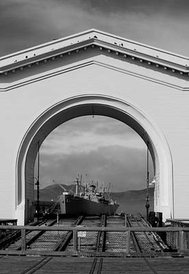Photograph - Navy Archway by Brooke Fuller
