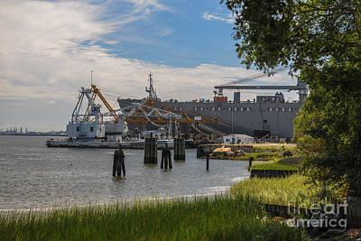 Photograph - Navy Base by Dale Powell