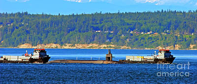 Photograph - Navy Force - Submarine Style by Tap On Photo