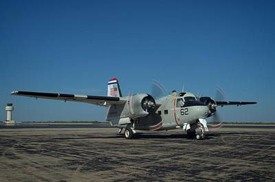Photograph - Navy Grumman Tracker Airplane by Tim McCullough