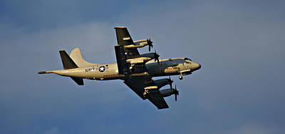 Navy P-3 Orion Turbo Prop Art Print