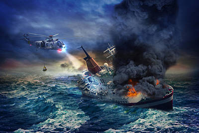 Navy Search And Rescue Original by Samuriah Robinson