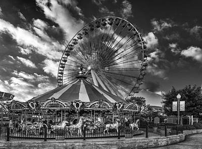 Photograph - The Chicago Navy Wheel by Erwin Spinner