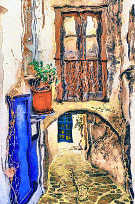 Traditional Painting - Naxos 44 by George Rossidis