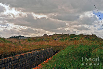 Photograph - Nazi Bunker by Elvis Vaughn