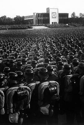 Nazi Party Photograph - Nazi Party Rally In Nuremberg, November by Everett