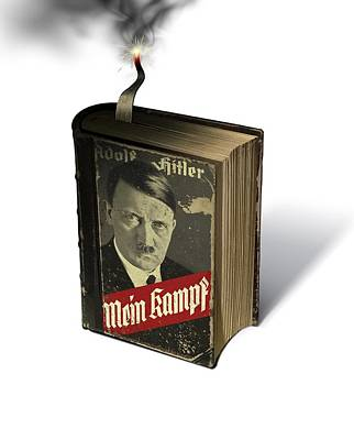 Mein Kampf Photograph - Nazi Timebomb, Conceptual Artwork by Science Photo Library