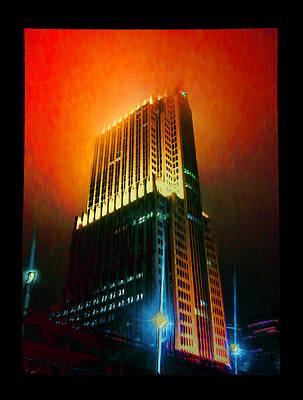 Digital Art - Nbc Tower by Zac AlleyWalker Lowing